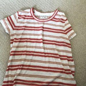 Madewell striped shirt